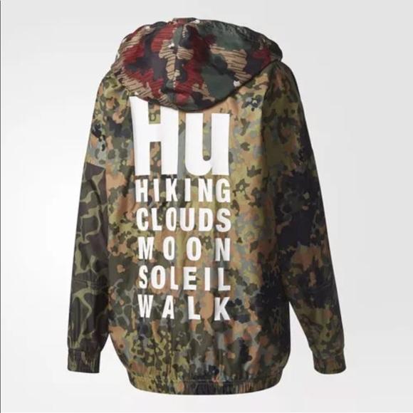 ad44eb02d611 Adidas Originals x Pharrell Williams Hu pullover